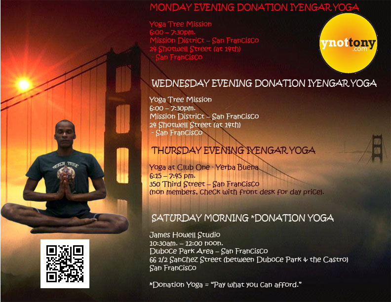 Yoga Classes - San Francisco