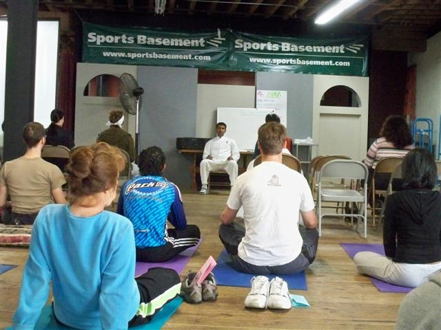 Sports Basement - Raja Yoga Class