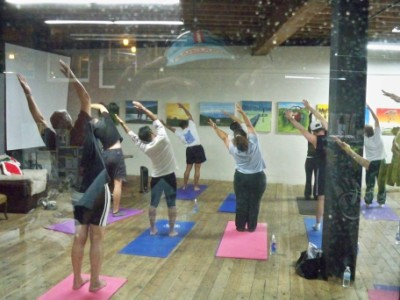 Yoga Classes at Sports Basement