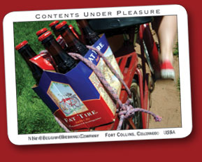 "Click here send  a thank you to New Belgium Brewing Company for their continued support and raising the bar ""Fat Tire"" Fundraising Party's"