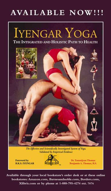 Iyengar Yoga Book - Ben Thomas