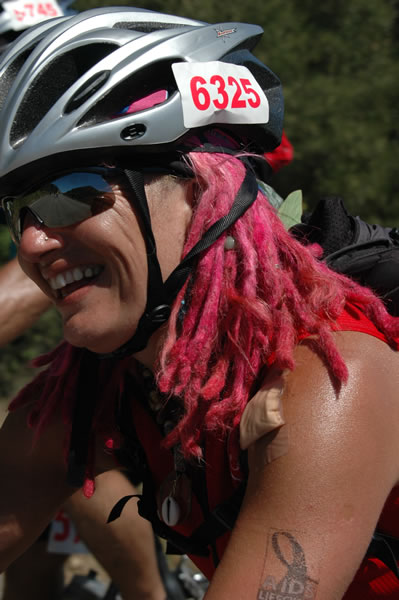 AIDS/Lifecycle Cyclist - Shivie Cook