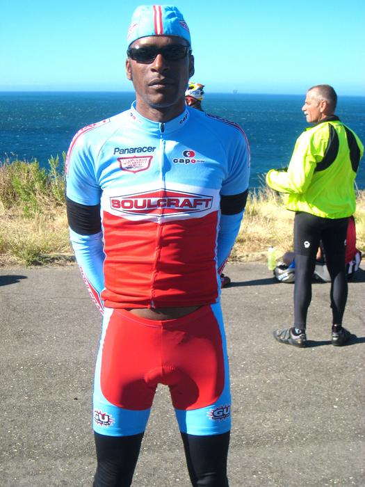 AIDS/Lifecycle Cyclist - Tony Eason