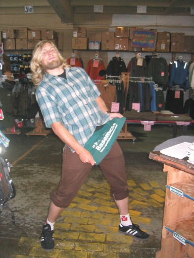 Sports Basement - Back Country Manager - Tobias