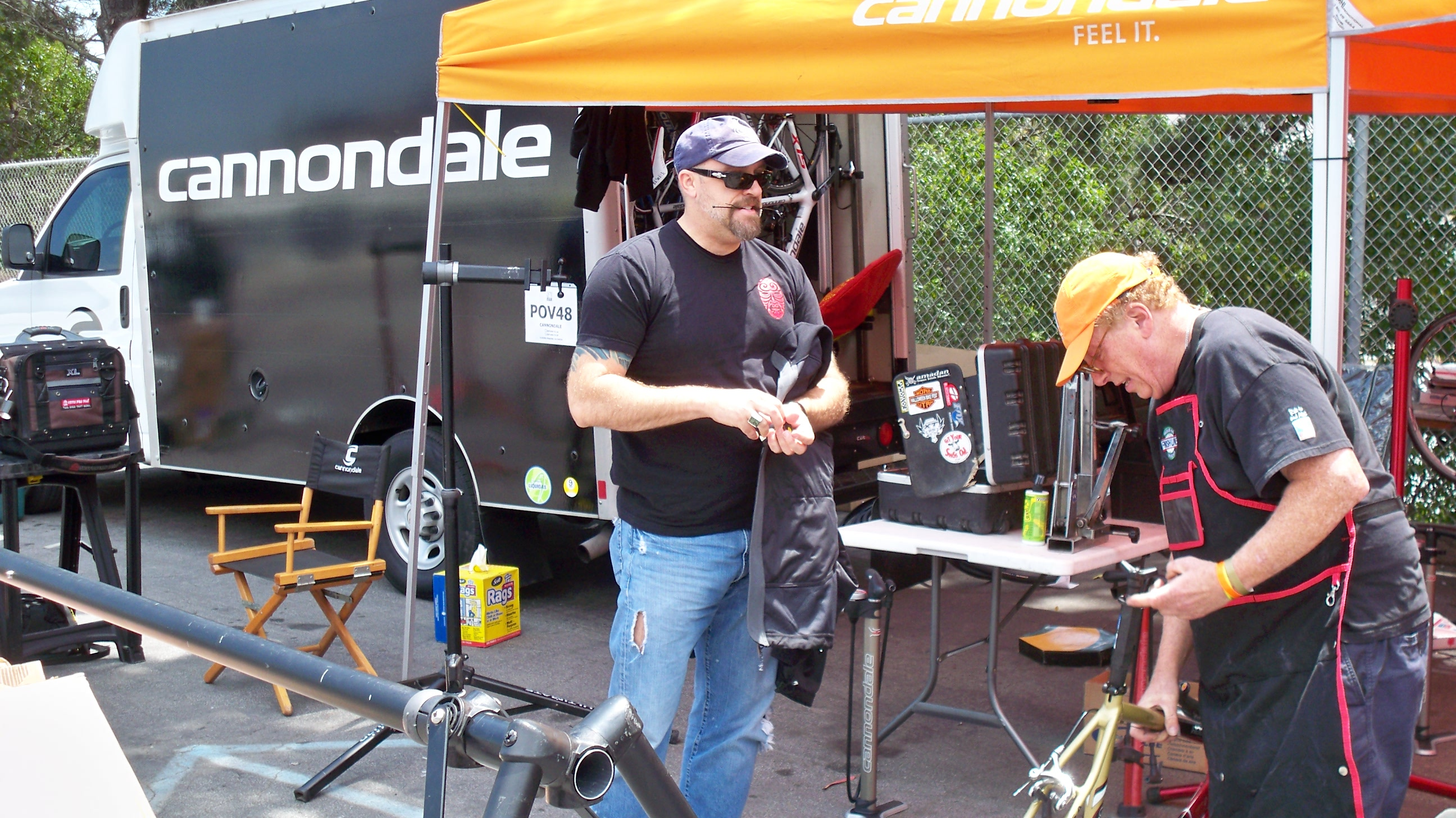 AIDS/Lifecycle Cannondale Bike Techs