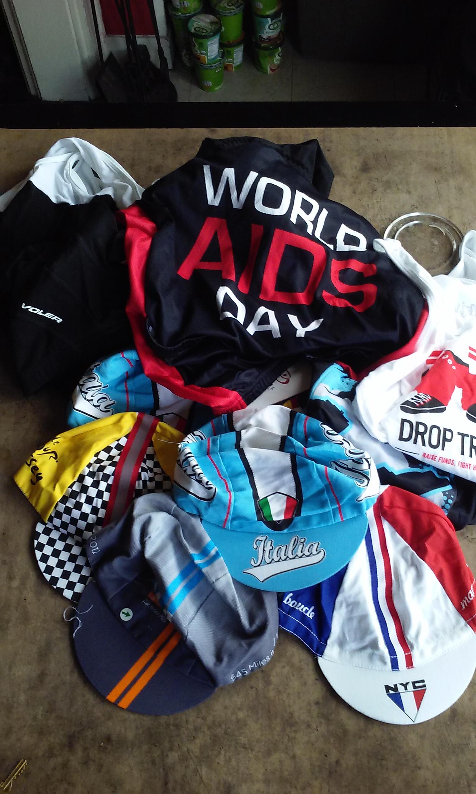 AIDS/Lifecycle Bike Jerseys