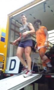 AIDS/Lifecycle Gear Truck volunteer darla bratton