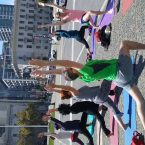 Outdoor Yoga Class San Francisco
