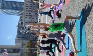Outdoor Yoga Class San Francisco