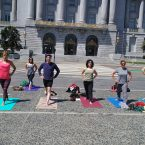 Yoga Class City Hall San Francisco