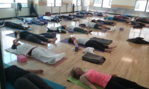 Yoga Students at Active Sports Club