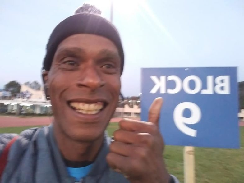 Athens Marathoner In Marathon, Greece