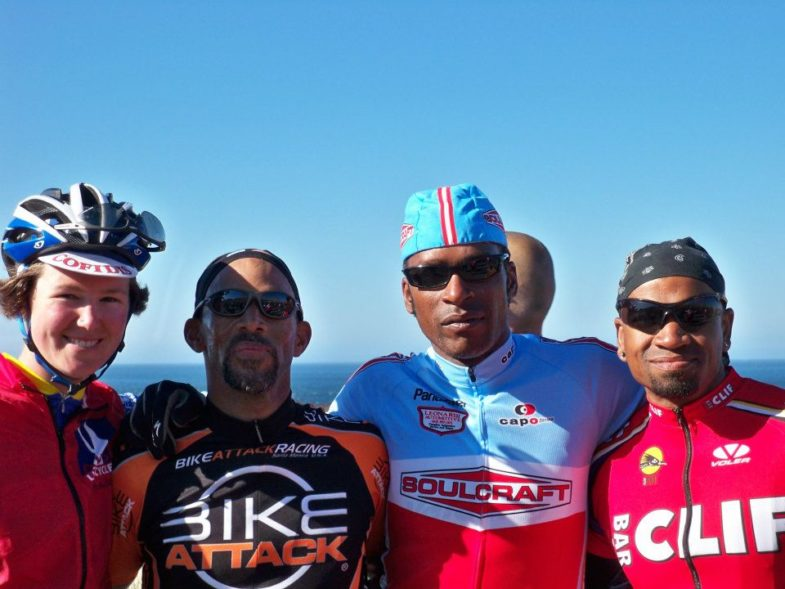 AIDS/Lifecycle Riders in Ventura, California