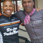 San Francisco Cyclist, Ramon Bostic & Tony Eason