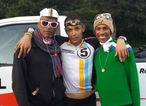 AIDS/Lifecycle Cyclist, Tony Eason, David Sears,