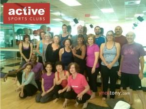 Active Sports Club Yoga Class