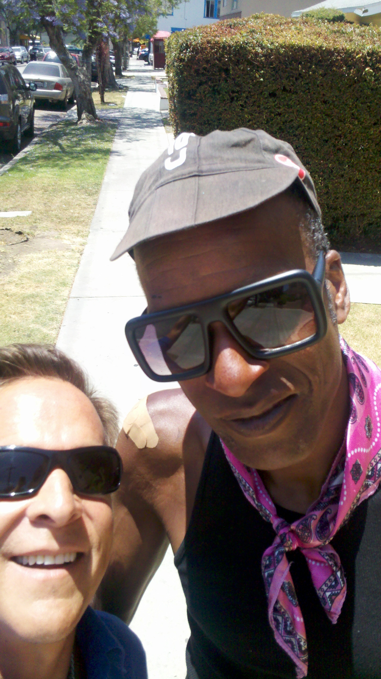 AIDS/Lifecycle Cyclist Tony Eason in Los Angeles