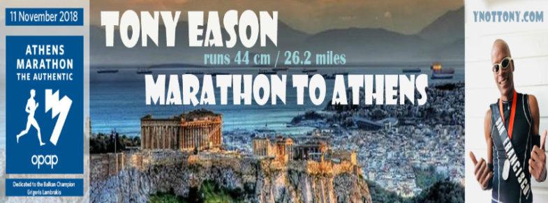 Athens Marathon Runner | Tony Eason