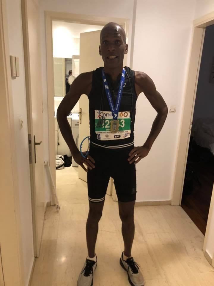 Athens Marathon Finisher | Tony Eason