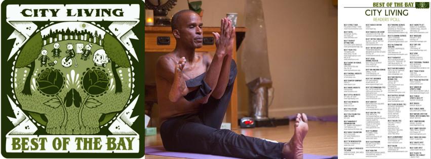 Best of The Bay Yoga Teacher in Dandasana
