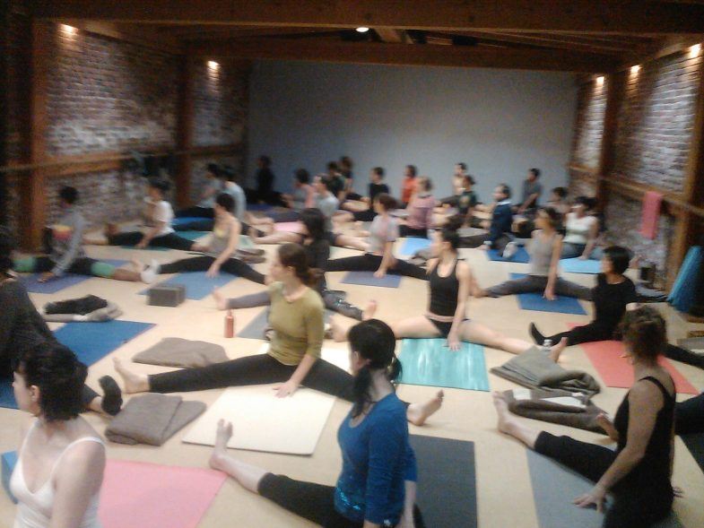 Best Yoga Class with 50 students in San Francisco