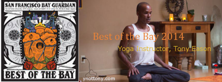 S.F. Best of The Bay Yoga Teacher, Tony Eason