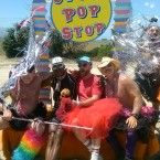 AIDS/Lifecycle Rest Stop. Otter Pops