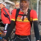 AIDS/Lifecycle Cyclist tony eason wearing the New Belguim Bike Jersey