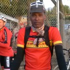 AIDS Ride Cyclist