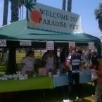 AIDS/Lifecycle Rest Stop Paradise Pit