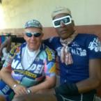 Cyclist Don Colnago