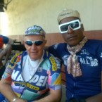 AIDS/Lifecycle cyclist Barry Elliot & Tony Eason