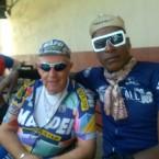 AIDS/Lifecycle cyclist Barry Elliot & Tony Eason