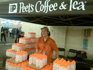 AIDS/Lifecycle Peets Coffee Employee
