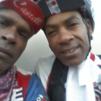 AIDS/Lifecycle Cyclist Tony Eason and David Sears