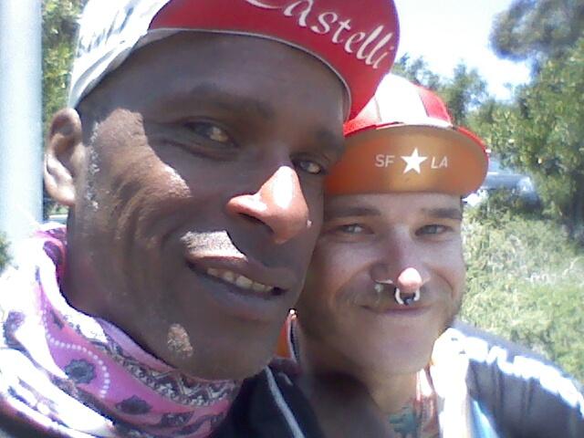 AIDS/Lifecycle Tony Eason and Rob