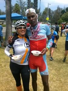AIDS/Lifecycle Cyclist Tony Eason and Rita