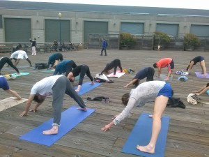 Yoga Pier 39 /San Francisco