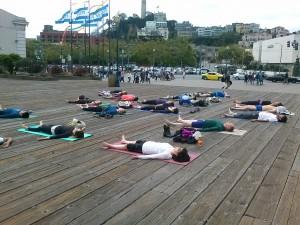 Outdoor Yoga Class | San Francisco