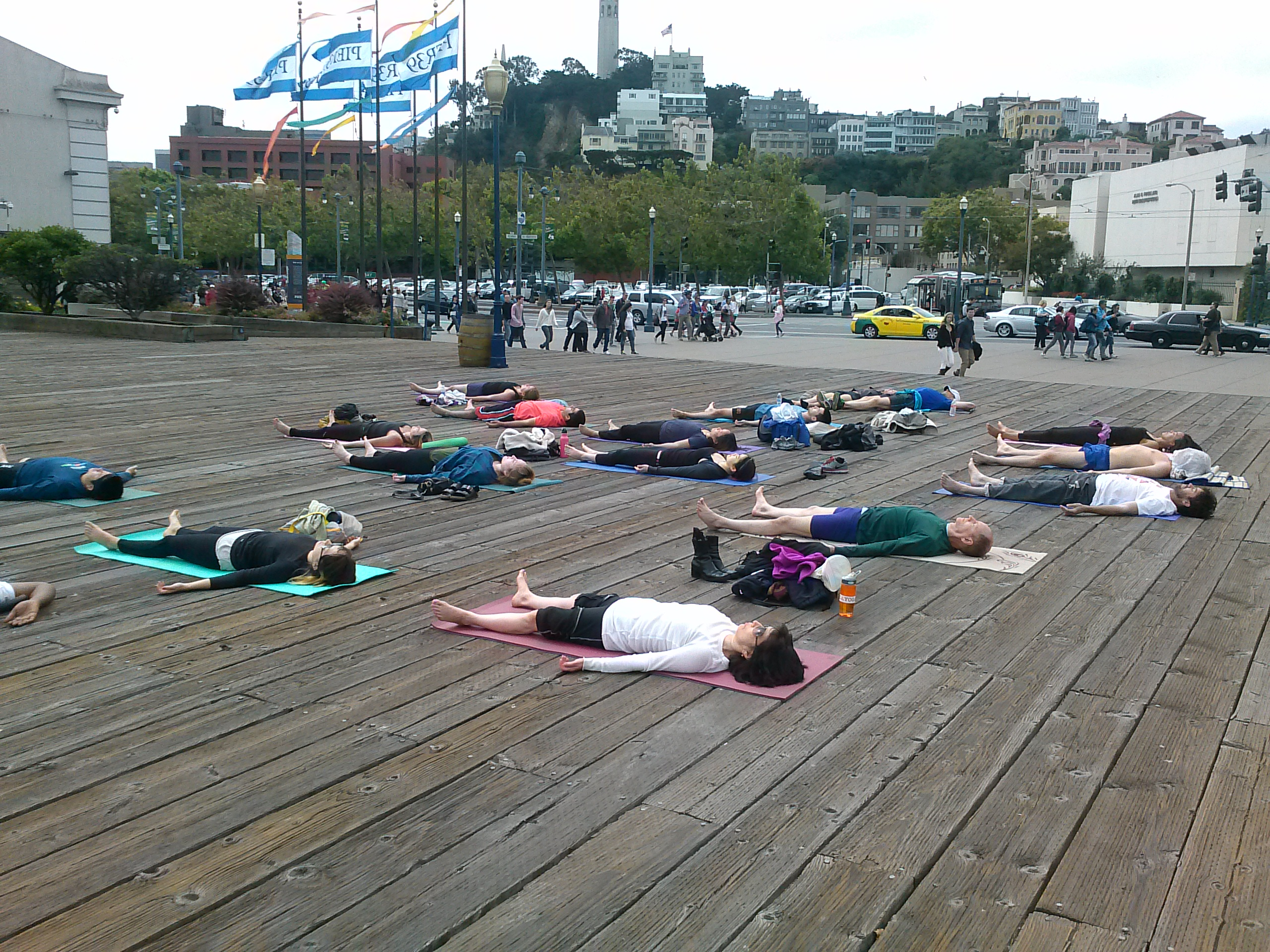 Outdoor Yoga Class | San Francisco