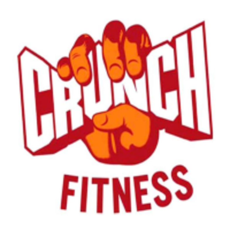 Crunch Fitness Yoga Logo