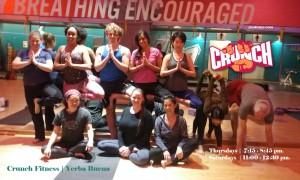 Crunch Gym Yerba Buena Yoga Studio | Yerba Buena
