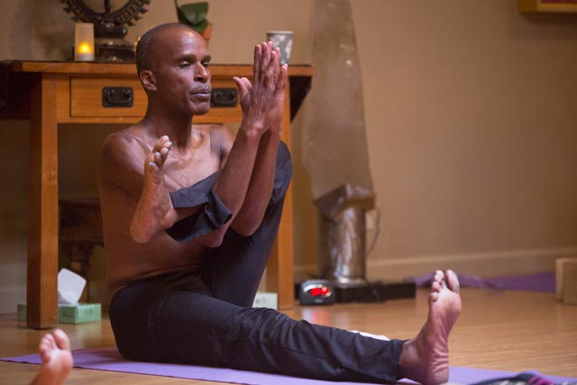 Yoga Teacher, Tony Eason Dandasana