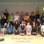 Donation Yoga Class