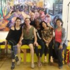 Yoga Students at Donation Yoga in the Castro SF