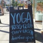 Yoga Class in the Castro District SF