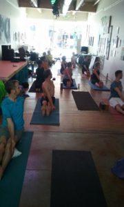 Yoga Class in San Francisco's Castro District