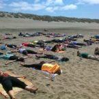 Yoga students in San Francisco