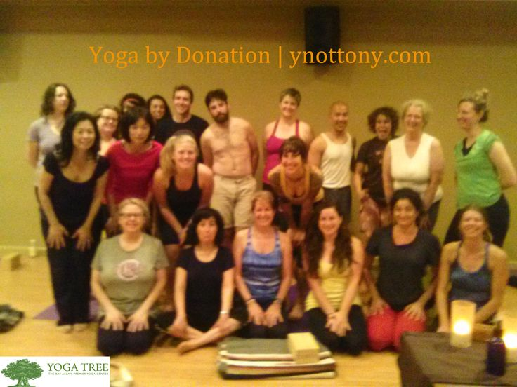 Yoga students at Yoga Tree