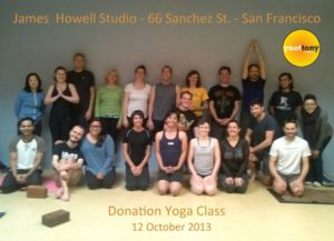 Yoga students group pic.